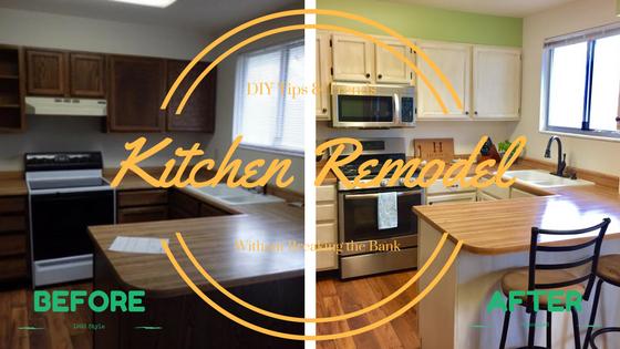 DIY Tips U0026 Tricks: Our Affordable Kitchen Remodel