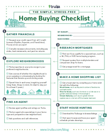 buying a home checklist home buying checklist to do list