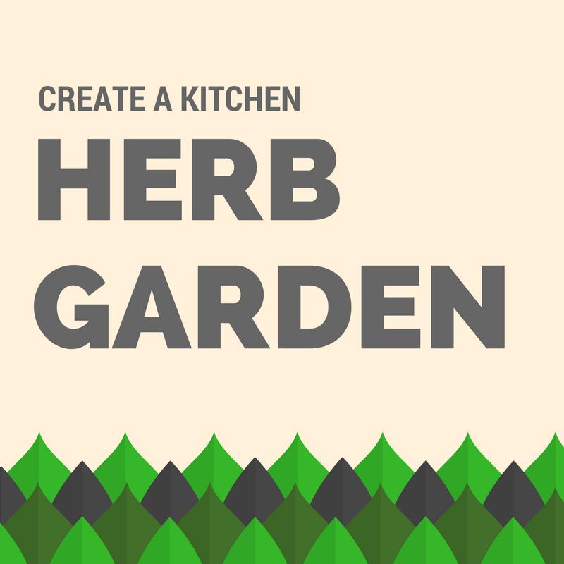 create a kitchen herb garden