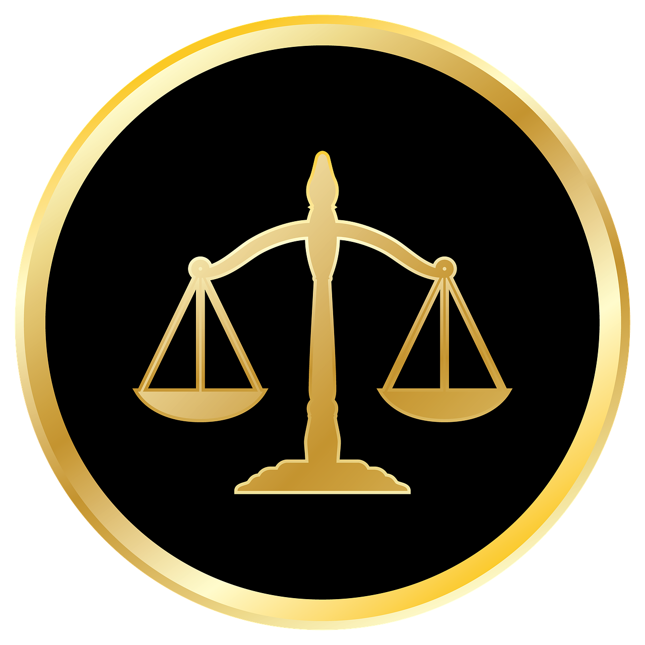 scale of justice One inch lapel pin featuring the scales of justice gold plated with single post back and butterfly clasp great gift for anyone working in the legal profession.