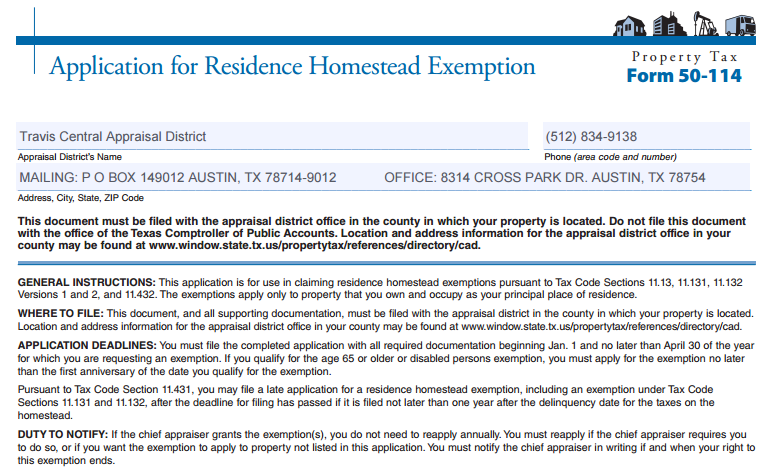 What is a Homestead Exemption?