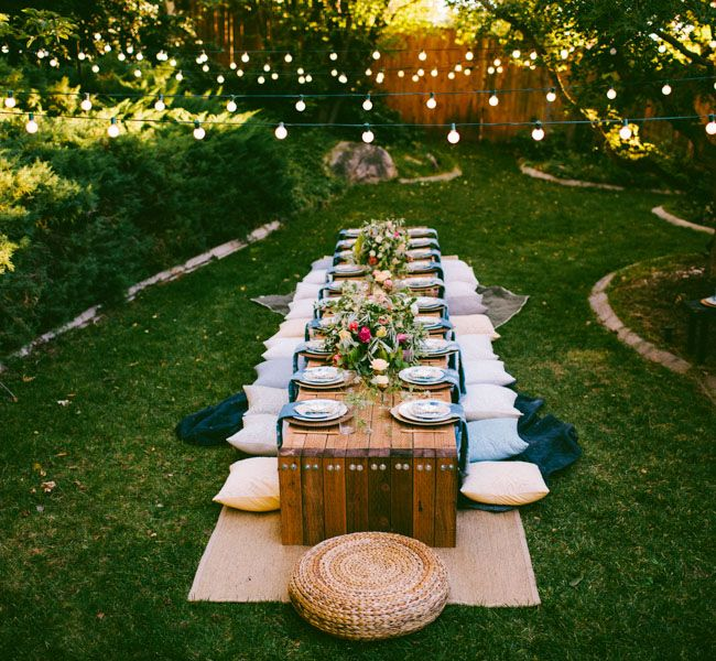 How To Host A Backyard Party
