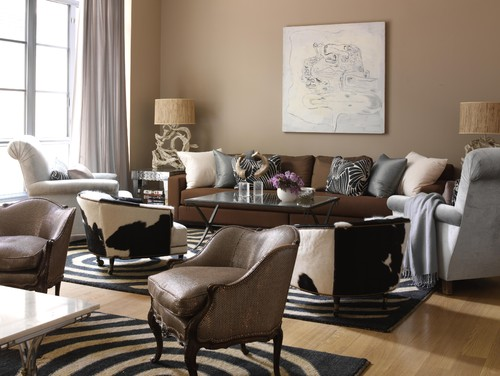 living room with brown sofa. Living Room With Brown Couch  Home Design