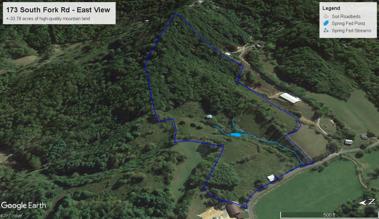 Marshall Farm Google Earth