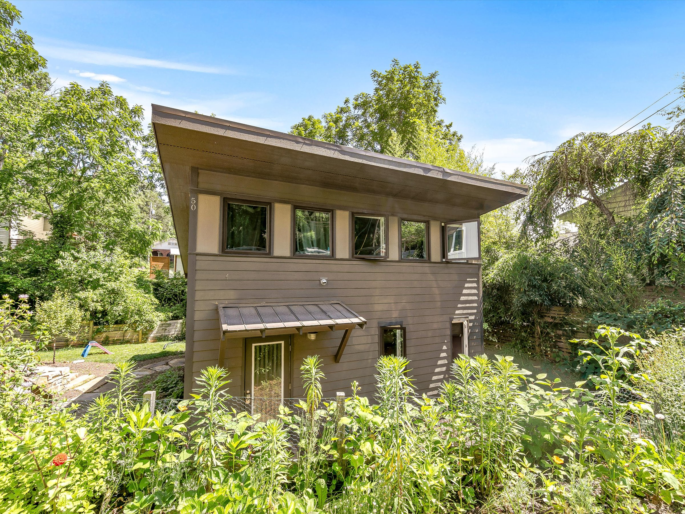 Green Built Home: Walkable + Modern in Urban West Asheville