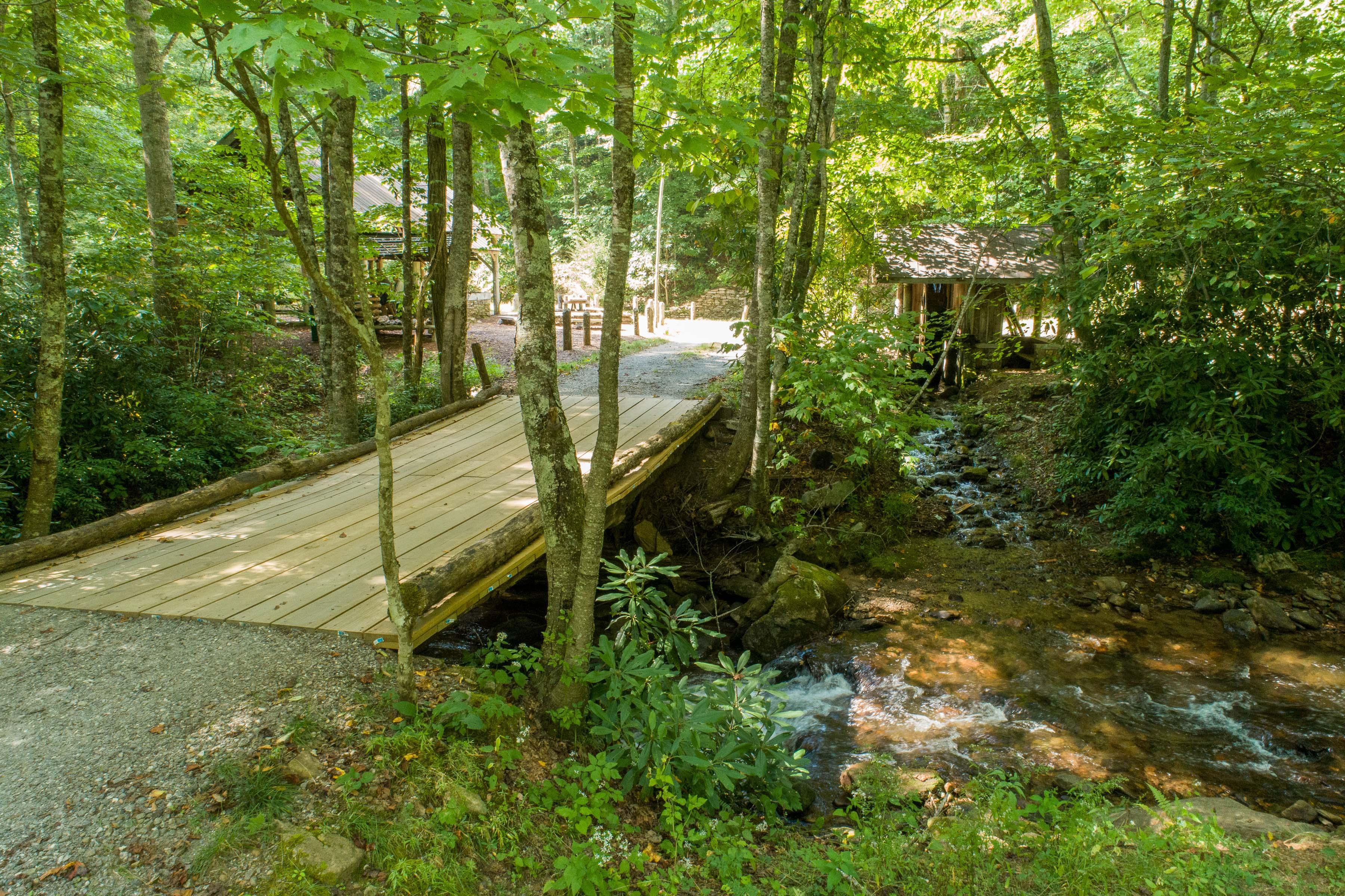Concierge Auctions Balsam Mountain Preserve NC Dark Ridge Creek