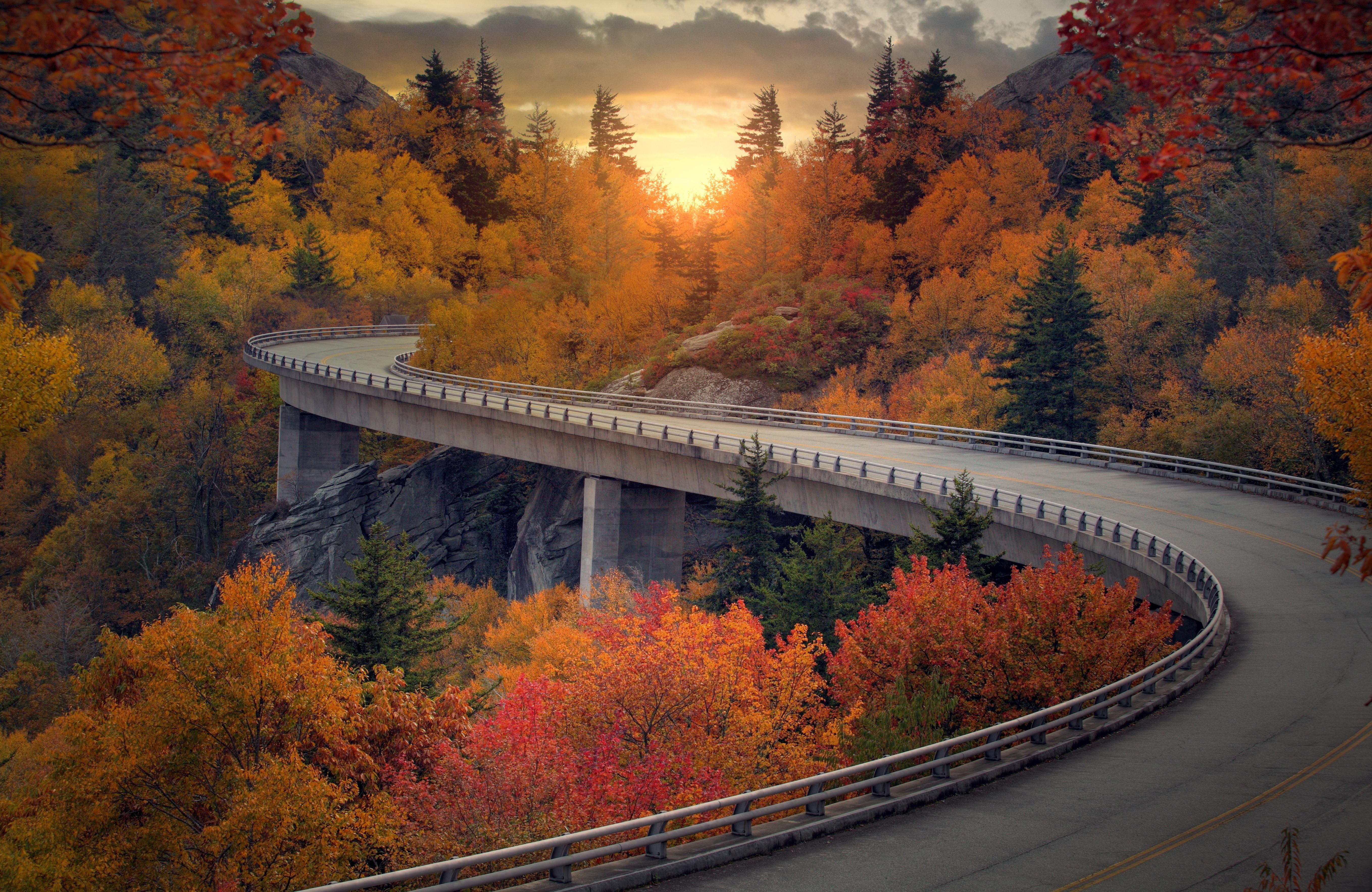 Asheville Autumn Activities Fall Blue Ridge Parkway Leaf Peeping