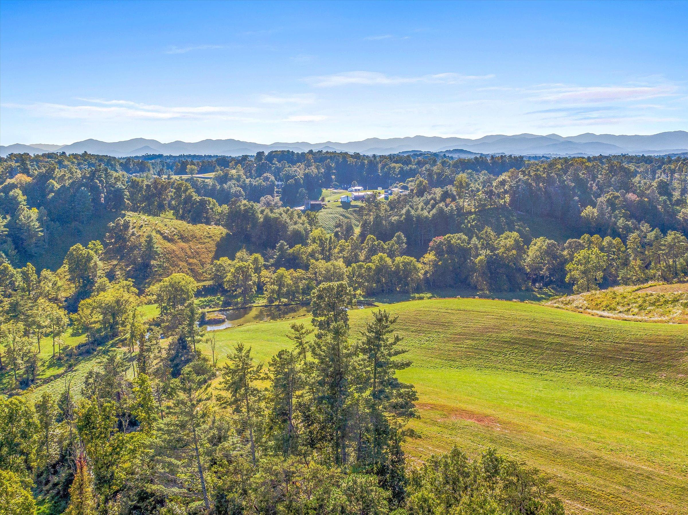 Weaverville Luxury Home Farm Land Acreage for Sale North Carolina