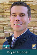 Bryan Hubbell, Associate Broker with Exit One Realty