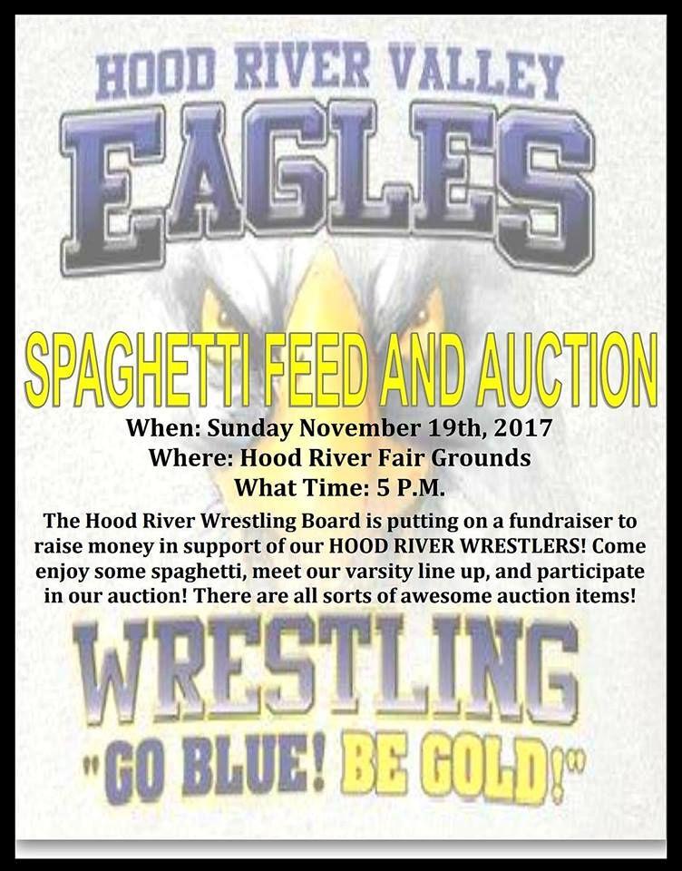 HRVHS Wrestling Spaghetti Feed Nov 19 2017