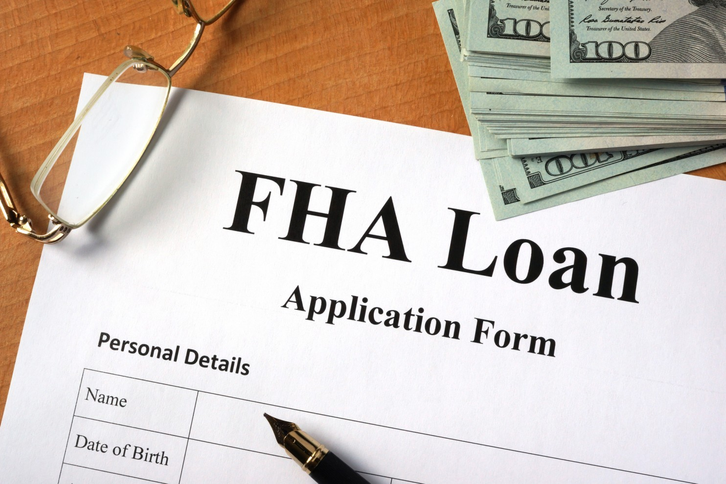 photo of fha loan form