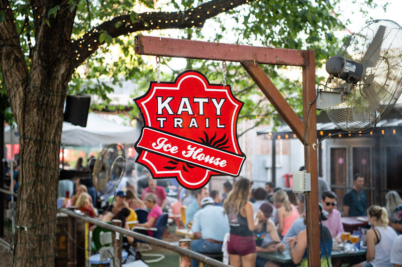 Katy Trail Ice House has the perfect patio