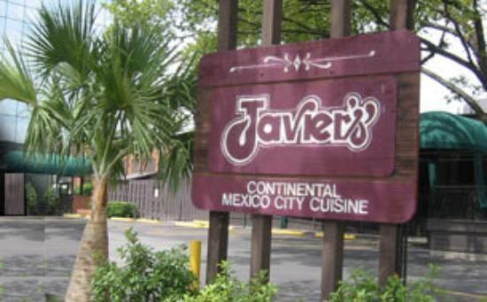 Dallas Restaurant Javier's Continental Mexico City Cuisine