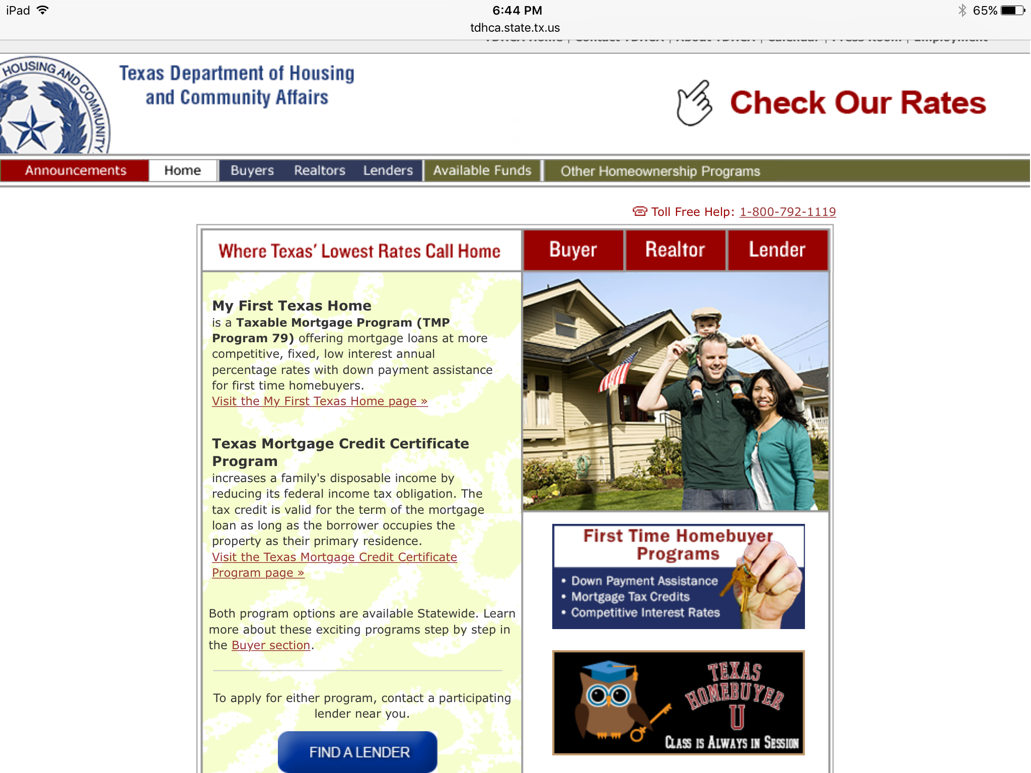 Texas Home er Assistance Programs