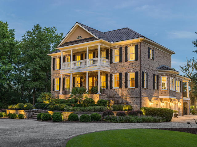 Luxury Living in Charleston on Deep Water among the Oaks