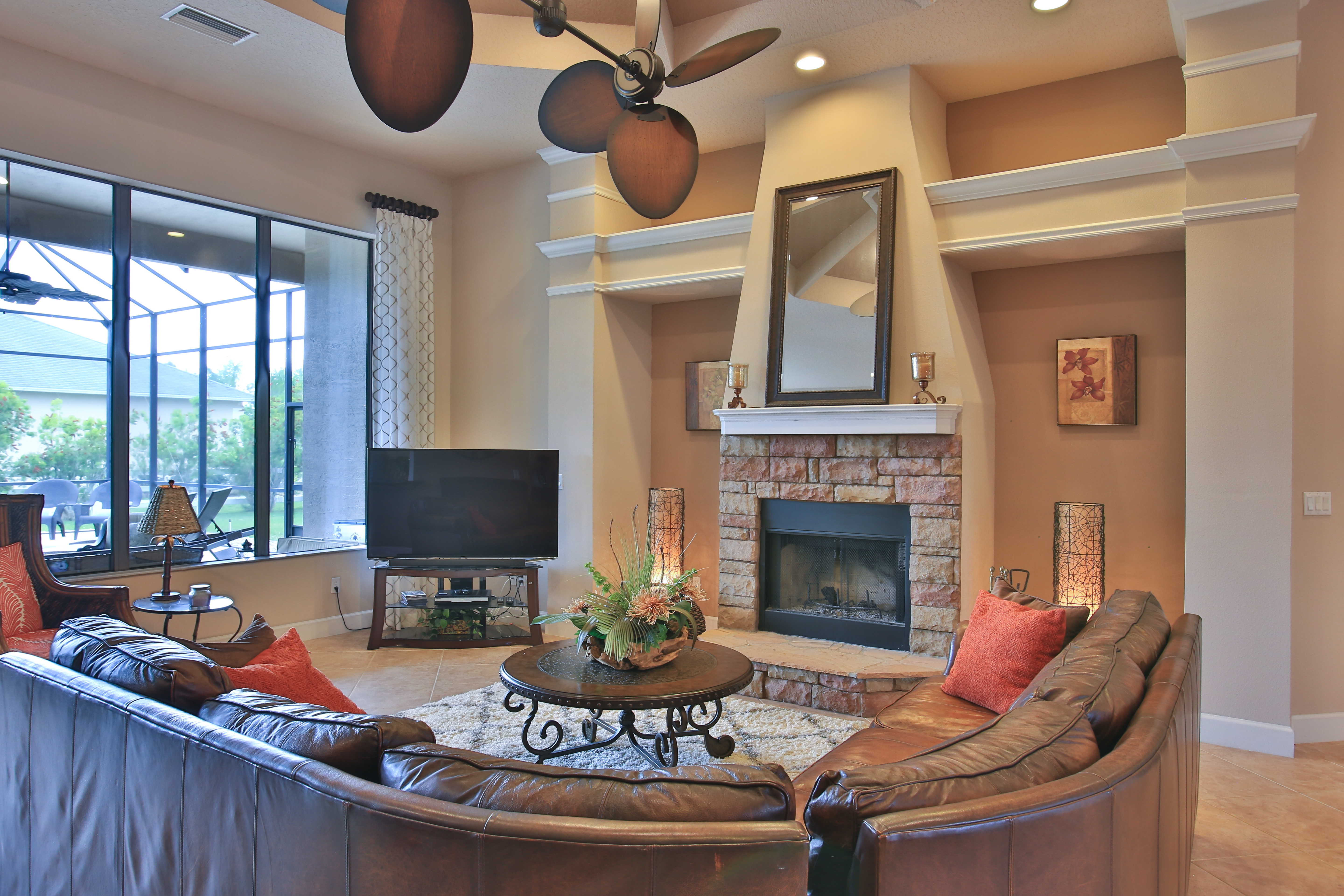 Living with Fireplace 6731 Merryvale Lane