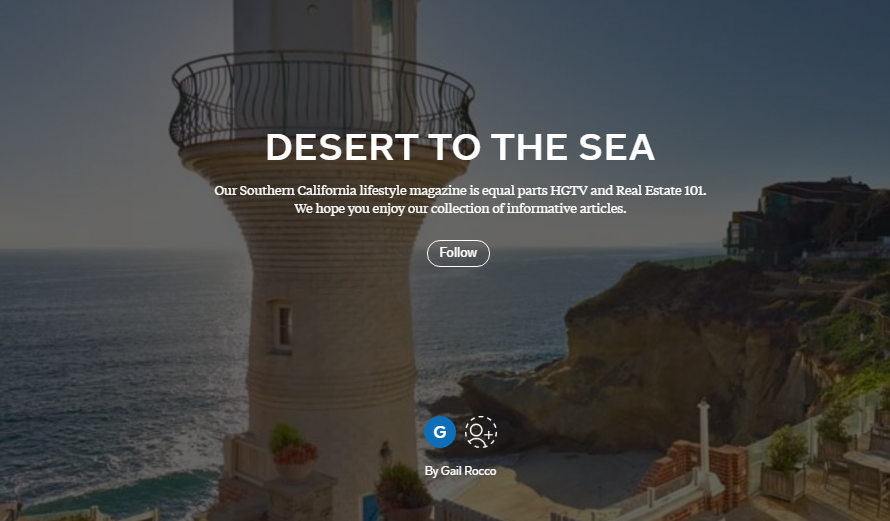 cover image of desert to the sea magazine