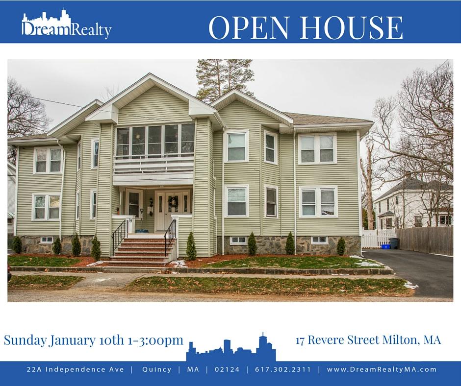 Condo For Sale $349,000 17 Revere Street Milton, Ma