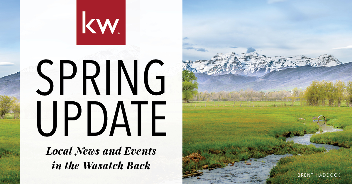 Spring Update: Local News & Events in the Wasatch Back