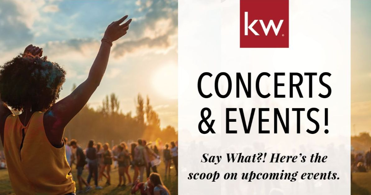 Upcoming Concerts & Events!