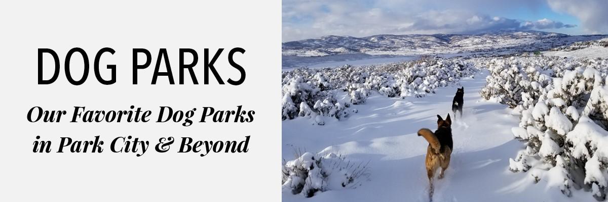 dog parks park city