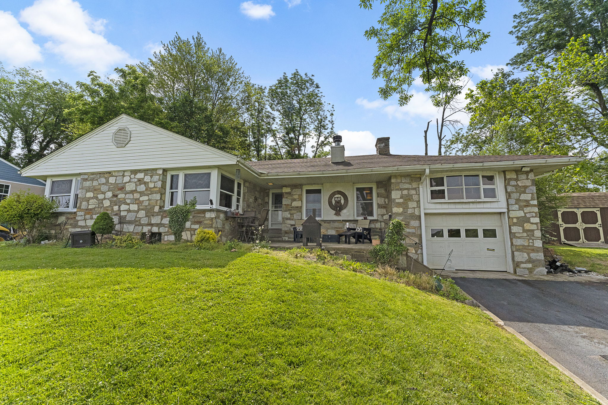 Excellent Opportunity To Own A Beautiful Stone Front Ranch Home Just Walking Distance To The Elmwood Park Zoo!