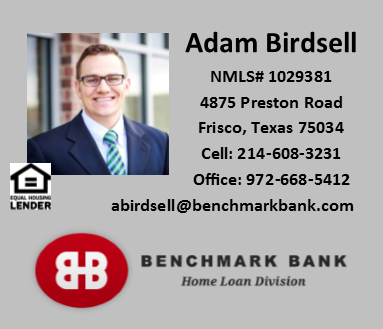 Adam Birdsell - Benchmark Bank - FireBoss Realty Preferred Lender
