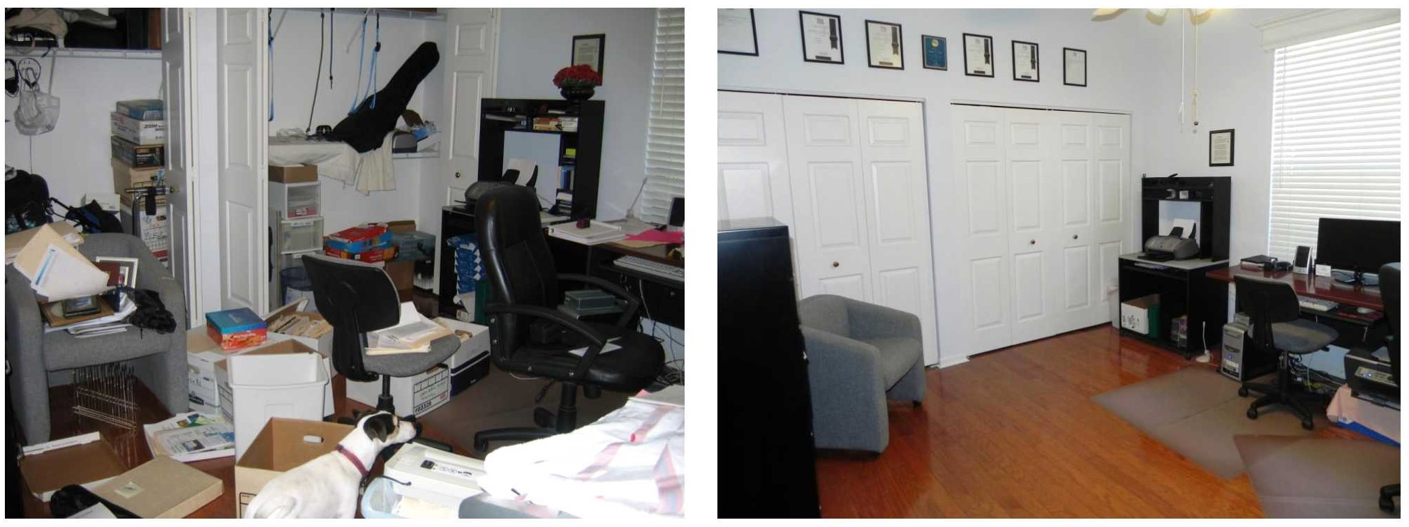 HELPFUL TIPS TO DECLUTTER A ROOM