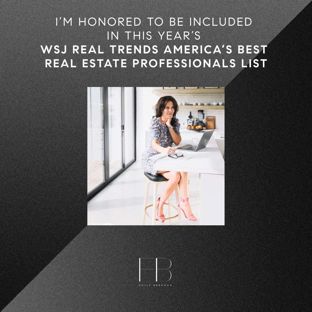 WSJ Real Trens America's Best Real Estate Professionals List