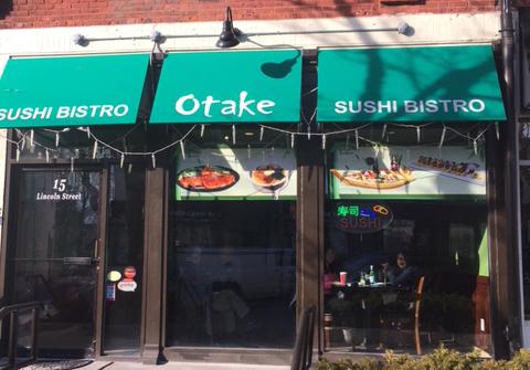 Otake Sushi in Newton Highlands