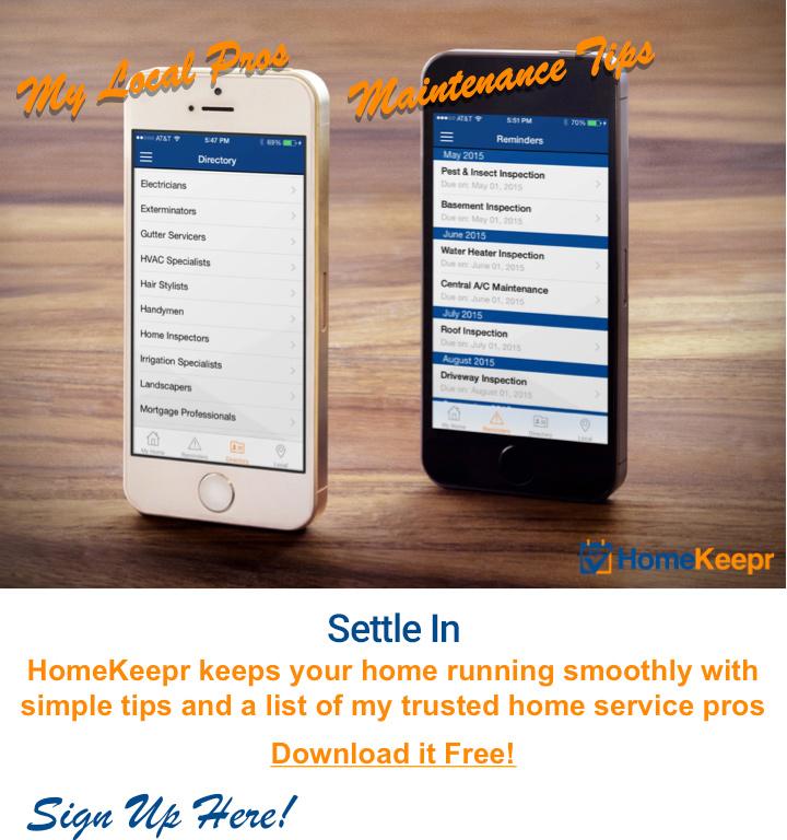 Homekeepr app free gift for Kaye Swain Roseville Real Estate Agent clients neighbors