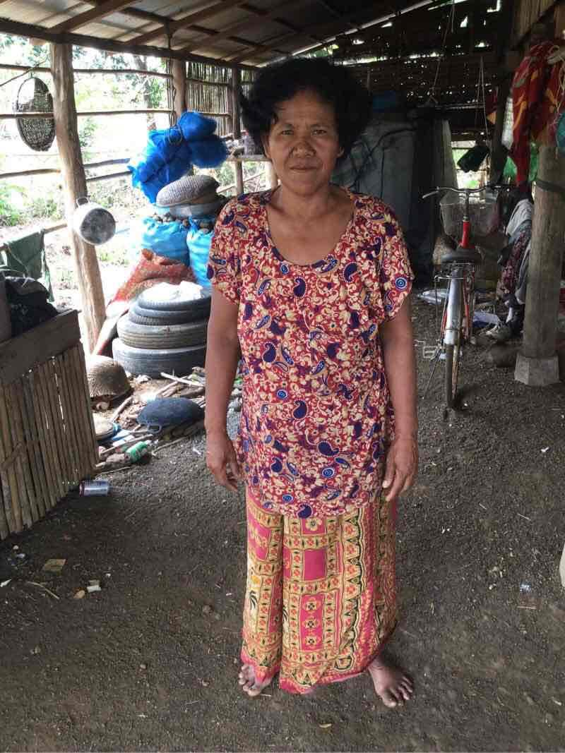 Srey in Cambodia is using her loan to buy rice for farming