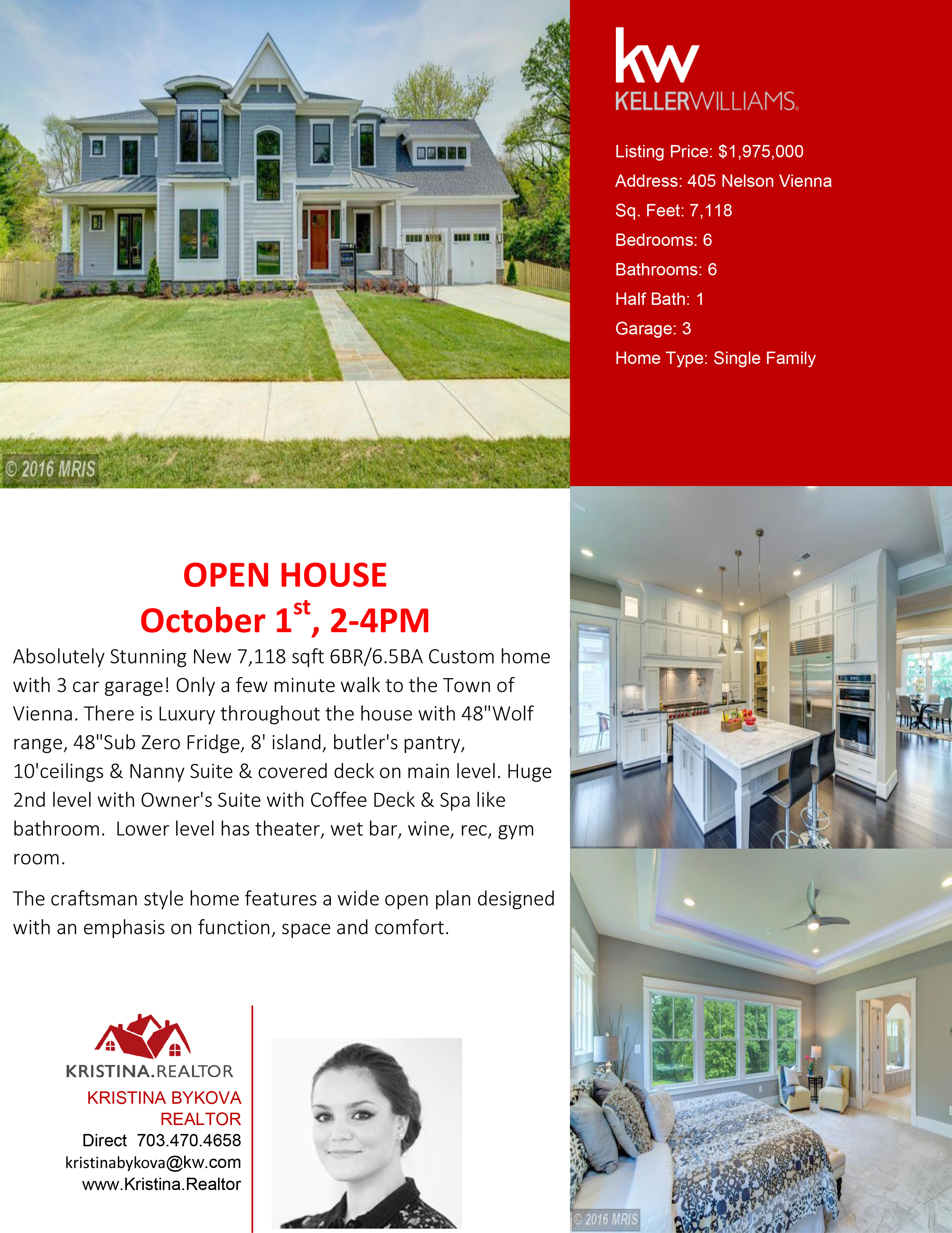 homes for near you kristina realtor open house sat 10 1 2 4pm new home in vienna