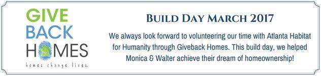 Atlanta Habitat for Humanity Build Day