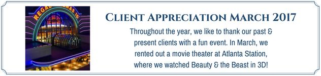 Client Appreciation Movie Event