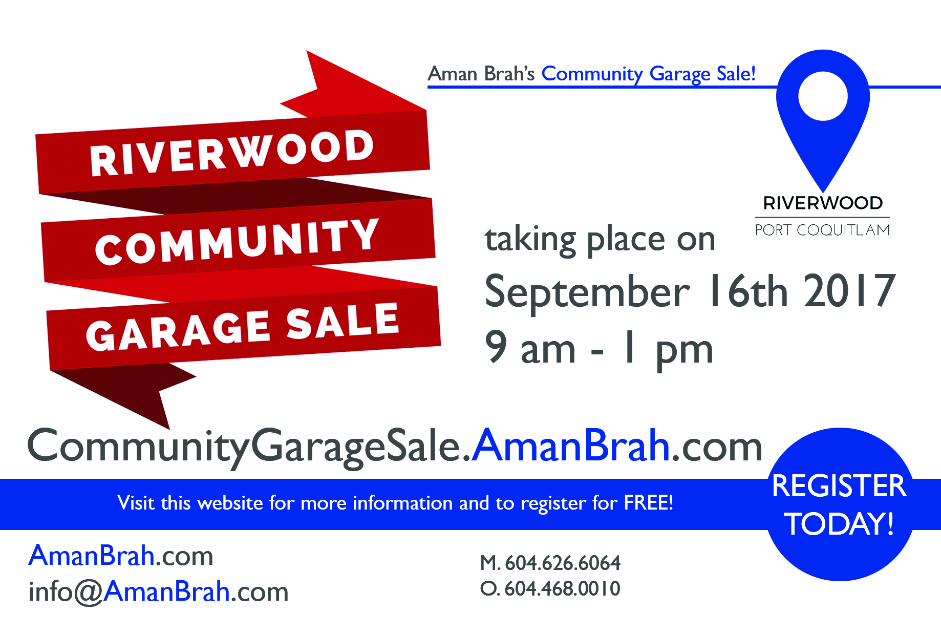 Riverwood Community Garage Sale 2017