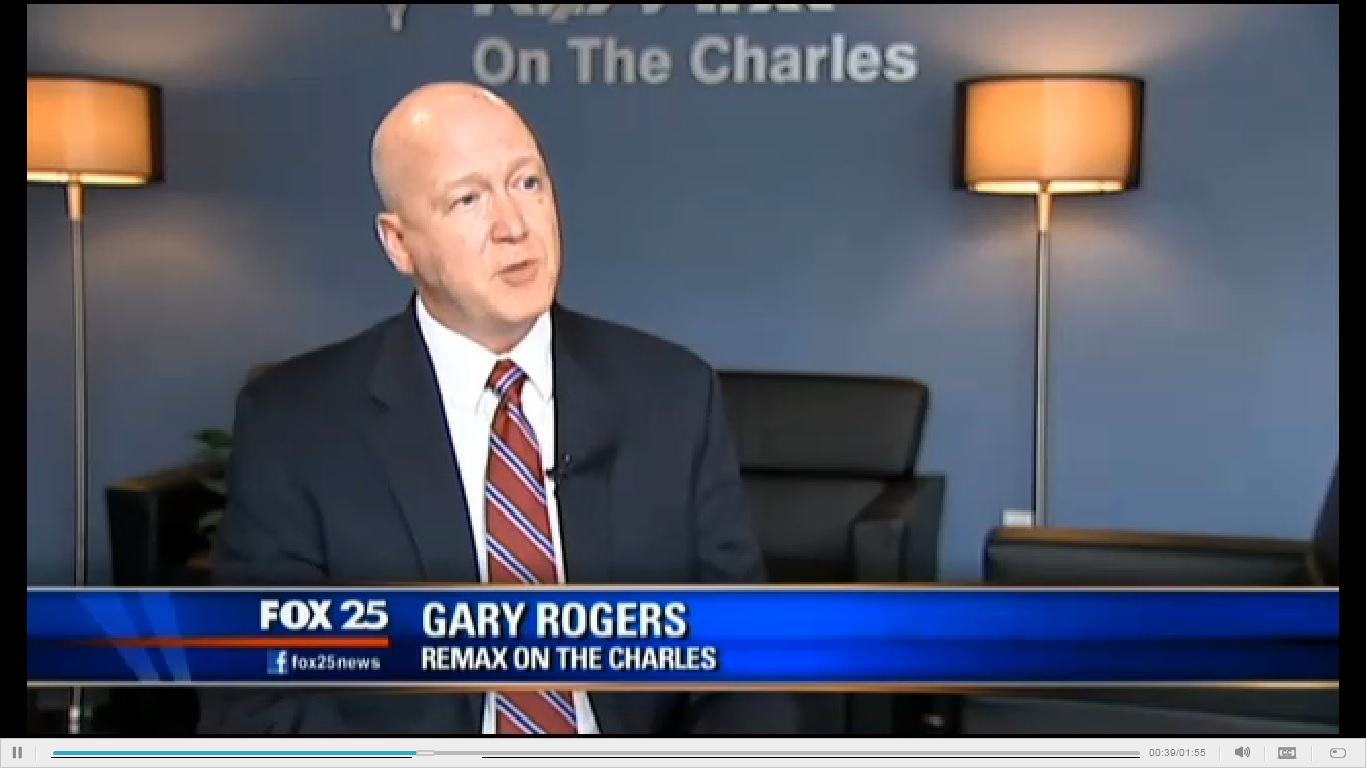 FOX 25's Elizabeth Hopkins interviews Gary Rogers on the market
