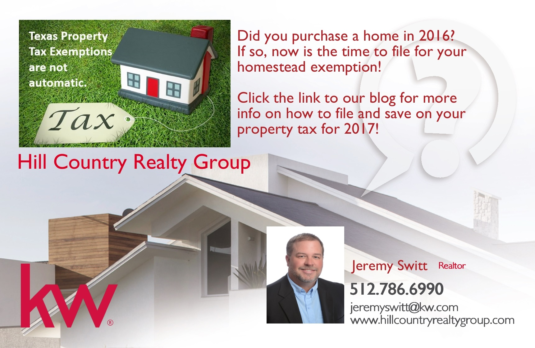 Texas Homestead Exemptions Explained - File before April 30!