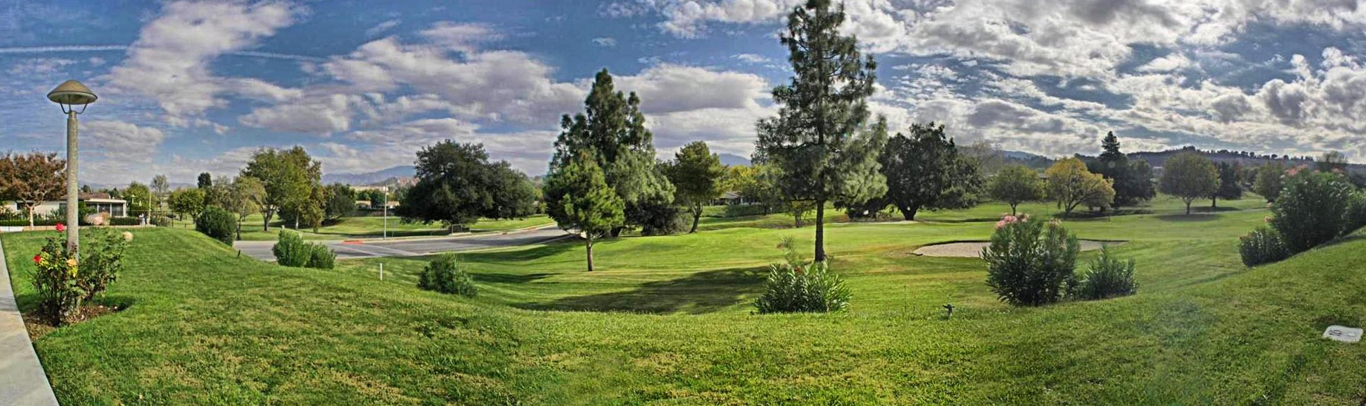 Golf course at Friendly Valley