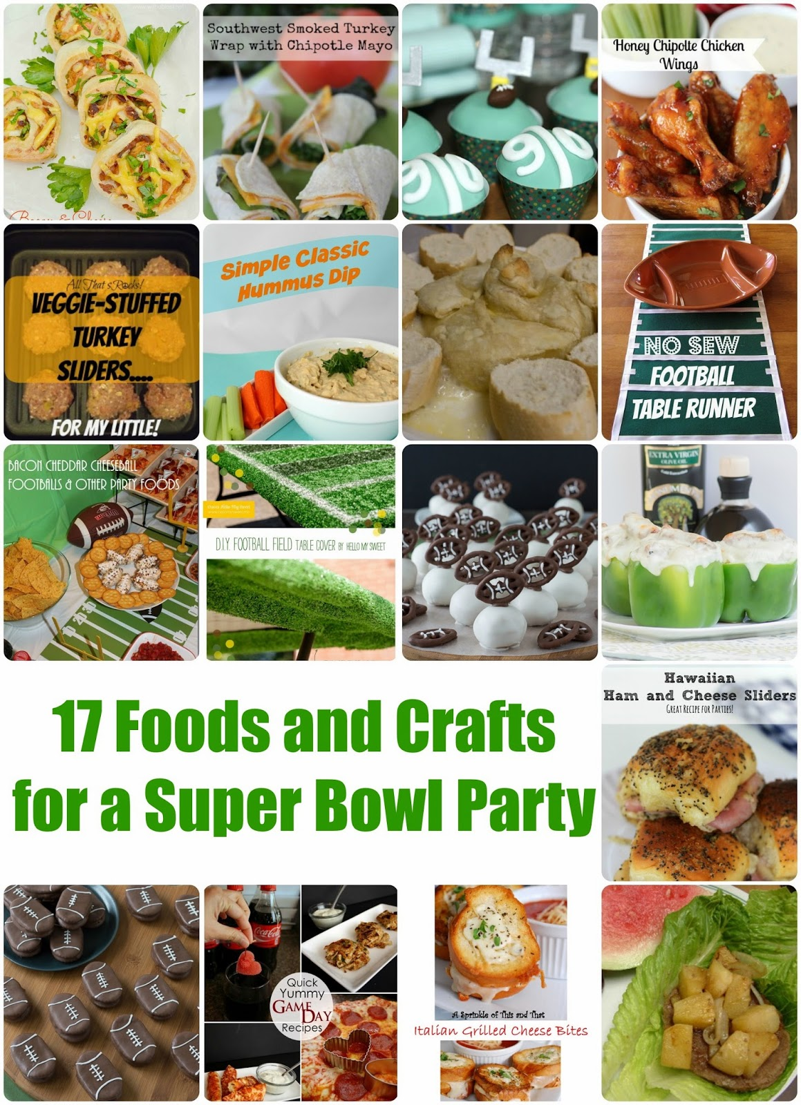 Crafty ideas for your food items this super bowl sunday - Kim Odegard Team Keller Williams Realty