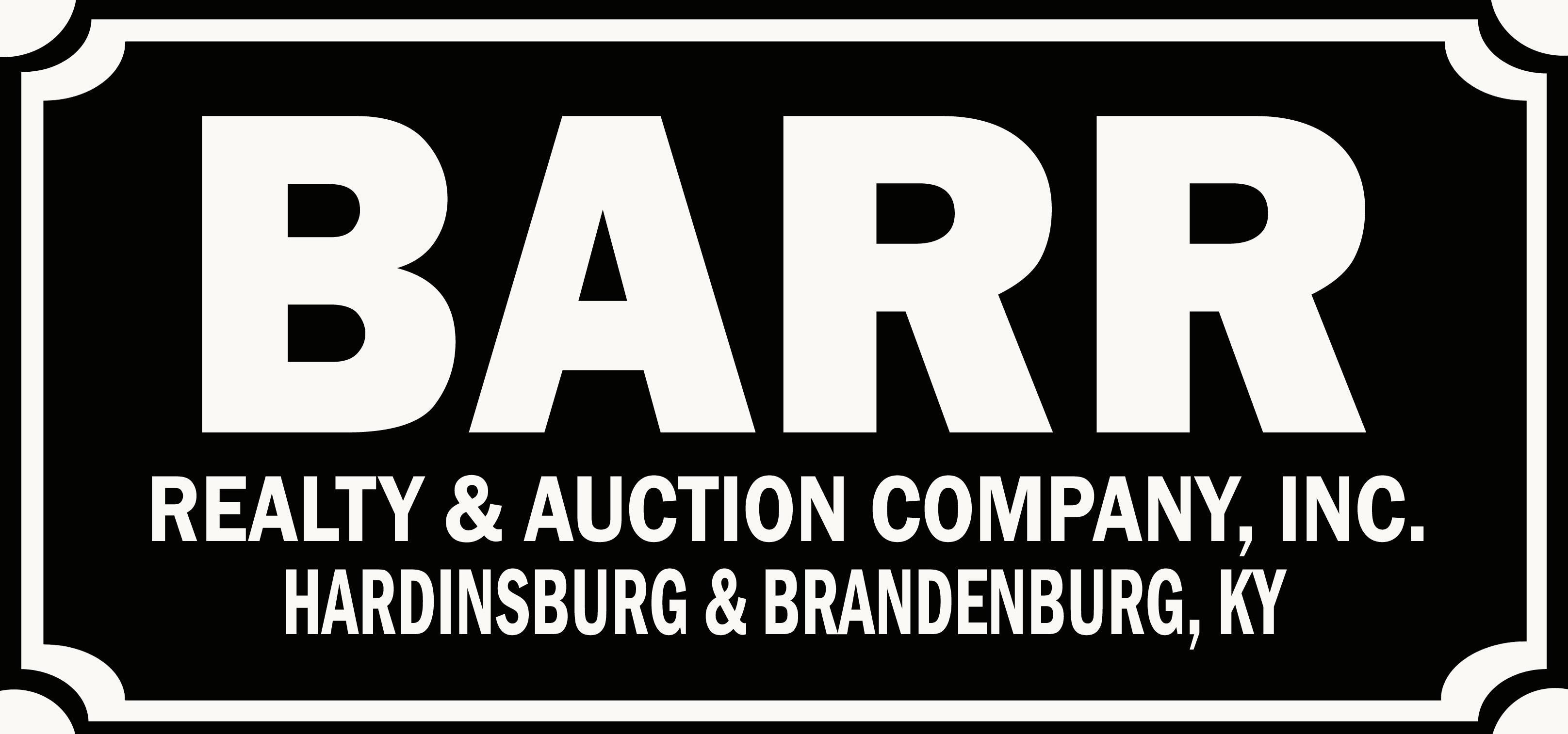 Barr Realty & Auction Co., Inc.