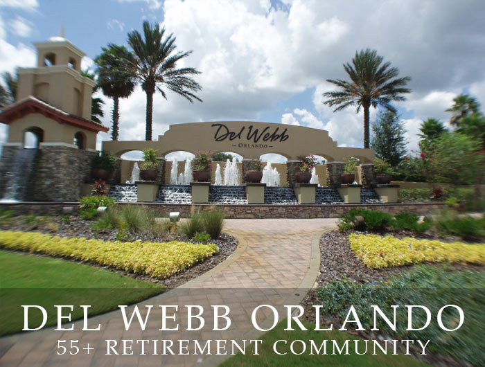 Del Webb Florida >> Del Webb Orlando Fl Homes For Sale Ridgewood Lakes 55