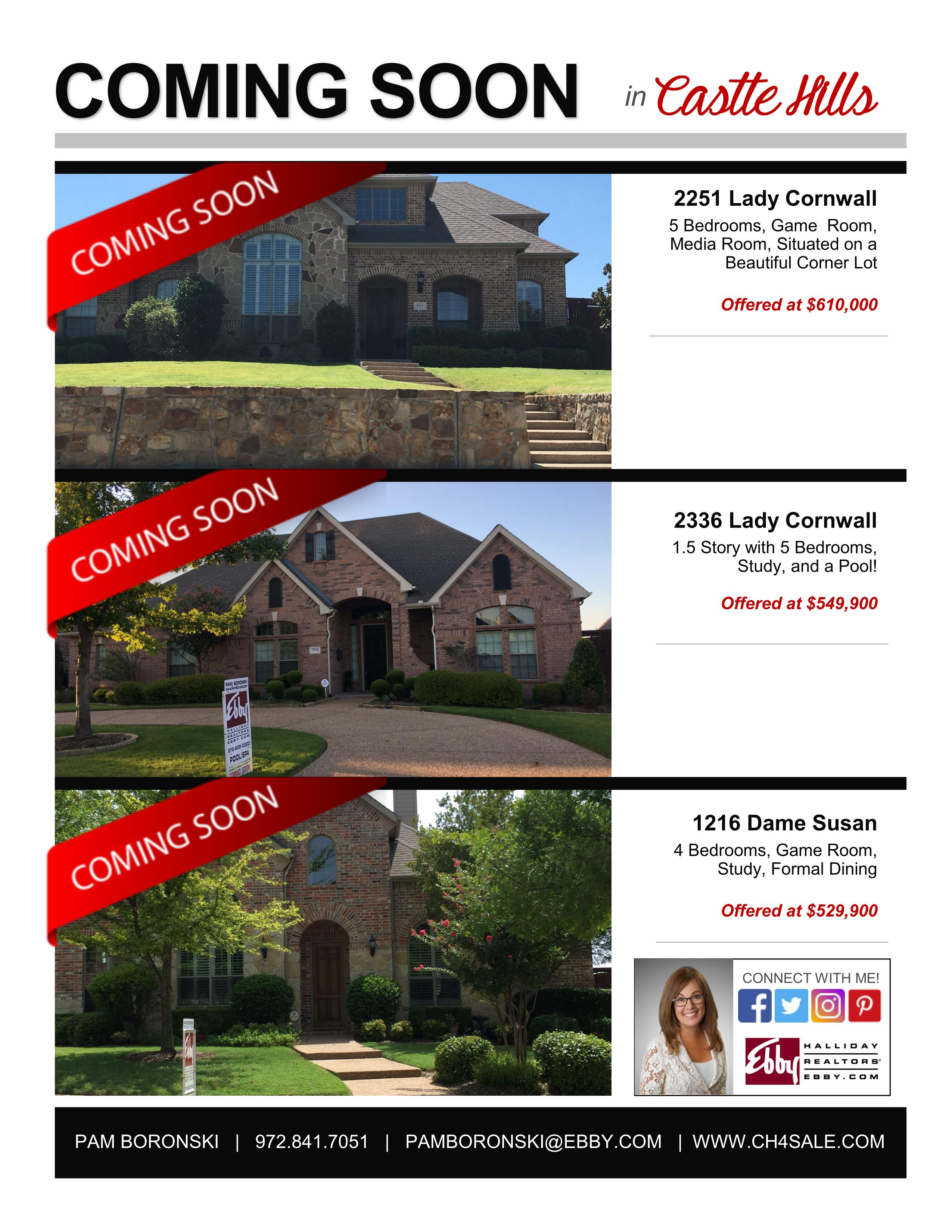 Coming Soon In Castle Hills Castle Hills Homes For Sale