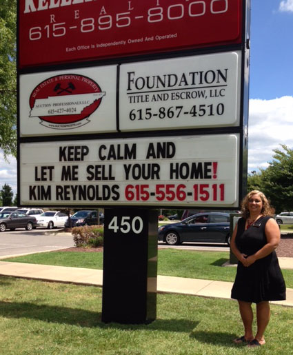 Keep calm and let me sell your home - Kim reynolds