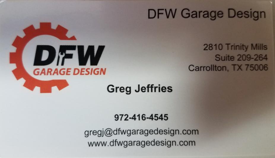 DFW Garage Designs