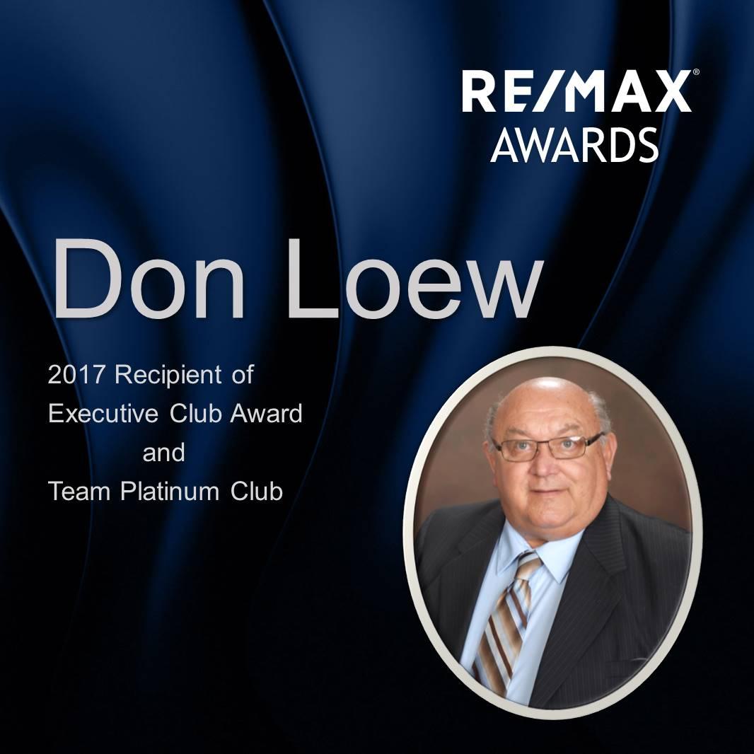 RE/MAX Award
