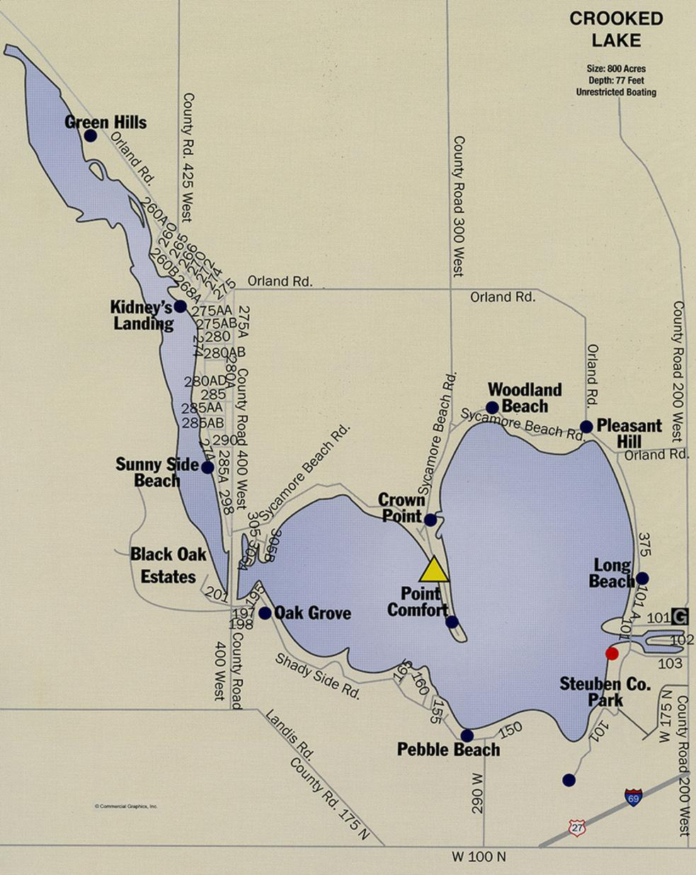 Hamilton Lake Indiana Map.Lake Maps Craig Ralston Your Real Estate Professional In
