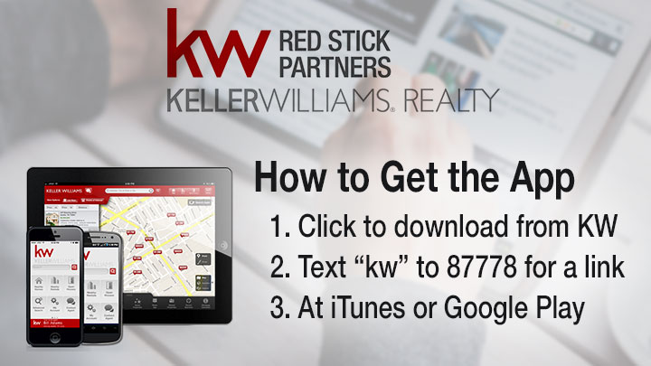 Get the App from KW