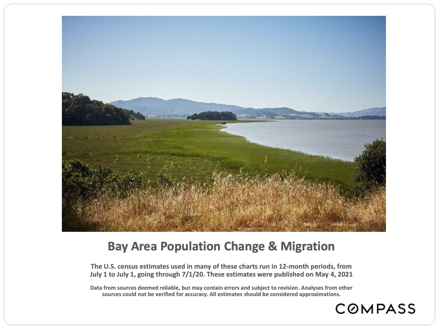 Bay Area Population Change and Migration