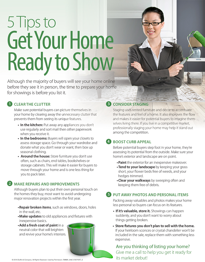 blog heather ogle realtor at valentine properties 5 tips to get your home ready to show